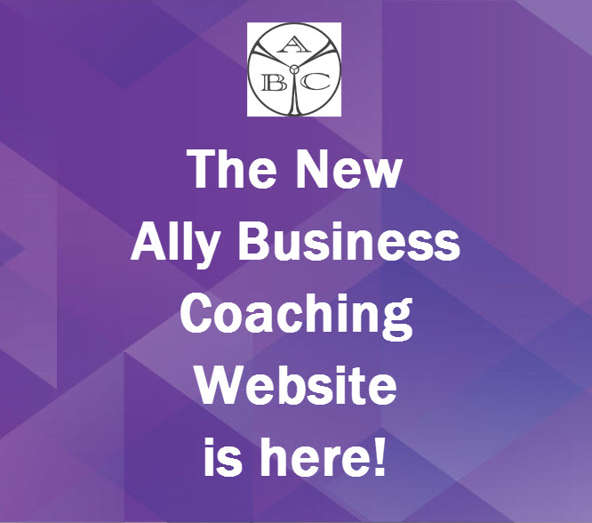 The New Ally Business Coaching Website is Here!